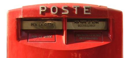 Cassetta della posta italiana