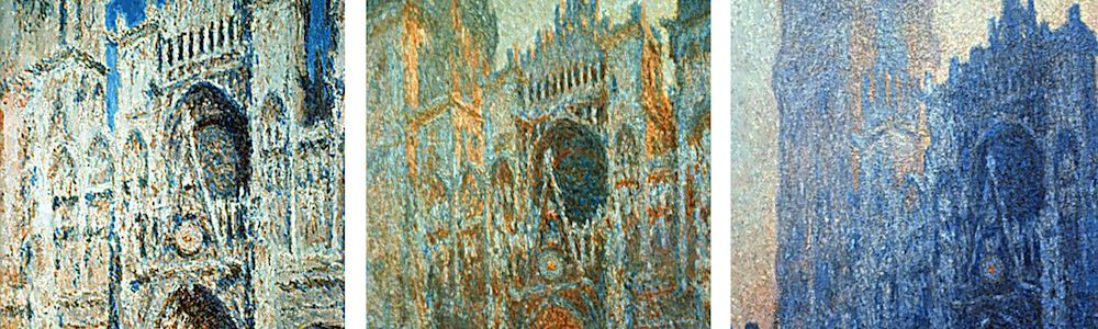 Rouen-Cathedral-series-by-Claude-Monet
