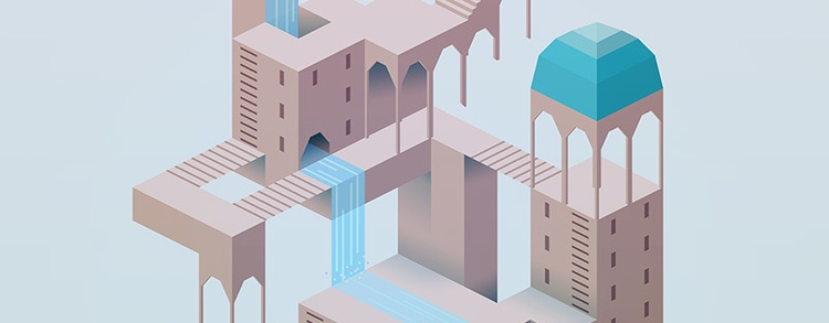 isometric monument valley game