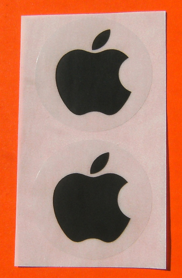 new Black Apple sticker